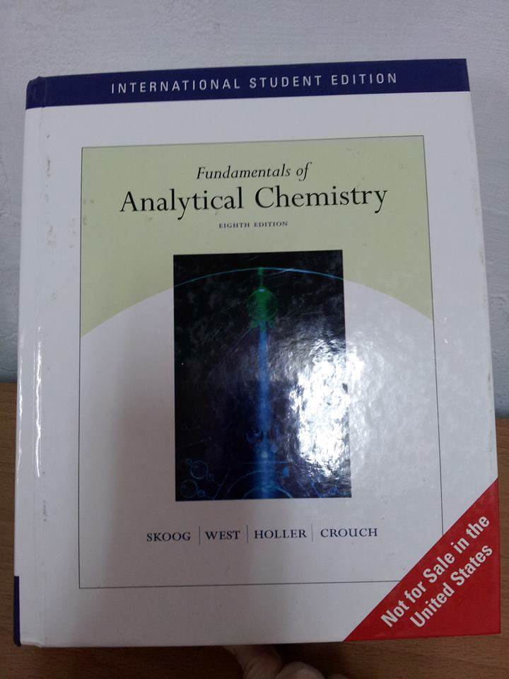 Fundamentals of Analytical Chemistry 8/e 分析化學 詳細資料
